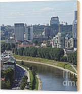 I Love You. Vilnius. Lithuania Wood Print