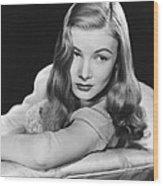 I Married A Witch, Veronica Lake, 1942 Wood Print