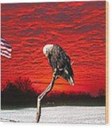 I Pledge Allegiance Wood Print