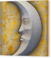 I See The Moon 1 Wood Print by Wendy J St Christopher