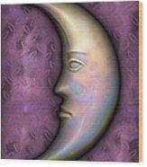 I See The Moon 2 Wood Print
