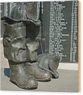 Iaff Fallen Firefighters Memorial 1  Wood Print