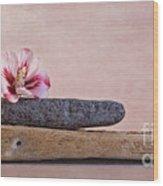 Ibisco Wood Print