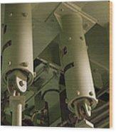 Missile Silo I Wood Print