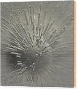 Ice Abstract II Wood Print