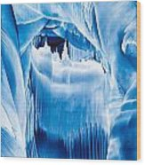 Ice Castles Painting Wood Print
