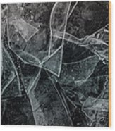 Ice Dream Wood Print