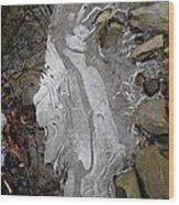 Ice Flow 2 Wood Print