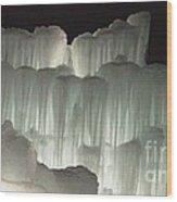 Ice Flow 20 Wood Print