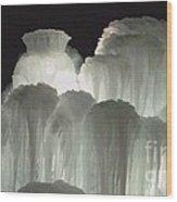 Ice Flow 4 Wood Print