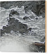 Ice Formations Viii Wood Print