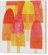 Ice Lollies Wood Print by Nic Squirrell
