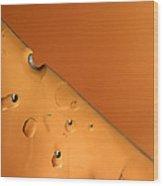 Ice No.008 Wood Print