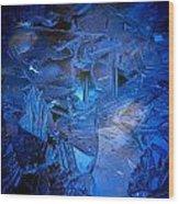 Ice Slace Wood Print