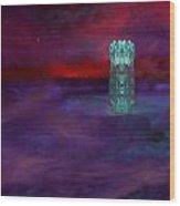 Ice Tower Wood Print