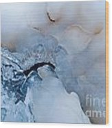 Ice Transformation V Wood Print