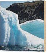 Ice Vii Wood Print