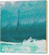 Ice Viii Wood Print by David Pinsent