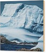 Ice Xxii Wood Print