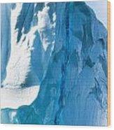 Ice Xxvi Wood Print