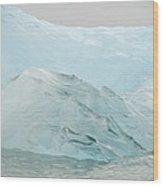 Iceberg, Norway Wood Print