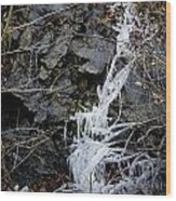 Icicles 2 Wood Print