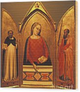 Icon Case Wood Print