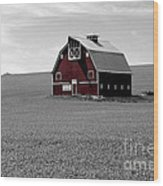 Icon Of The Palouse Wood Print