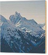 Iconic Arlberg Wood Print