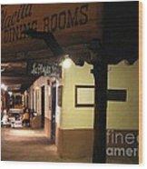 Iconic La Placita - Albuquerque  Wood Print
