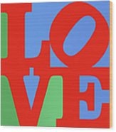 Iconic Love Wood Print