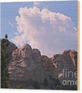 Iconic Mount Rushmore Wood Print