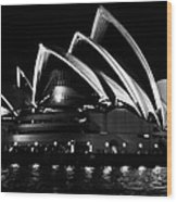 Iconic Sydney Opera House Wood Print