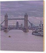 Iconic Thames Wood Print