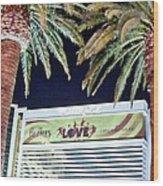 Iconic Vegas Wood Print