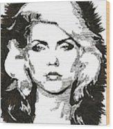 Icons - Blondie Wood Print