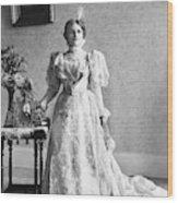 Ida Saxton Mckinley (1847-1907) Wood Print