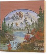 Idaho Wood Print