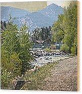Idaho Springs Paradise Wood Print