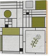 Ideogram 1 Variation 1 Wood Print