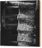 Idle Cog Wood Print