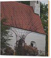 Idyllic Chapel Wood Print