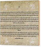 If By Rudyard Kipling Typography On Watercolor Wood Print