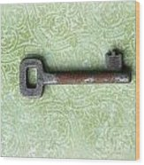 If You Find The Lock You Own Me Wood Print by Lorraine Heath