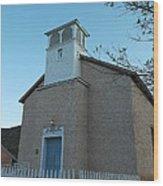 Iglesia De Jaun Batista Lincoln City New Mexico Wood Print