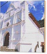 Iglesia De San Antonio Wood Print