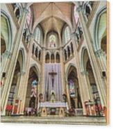 Iglesia De San Isidro De Coronado In Costa Rica Wood Print