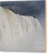 Iguacu Falls Majesty Wood Print