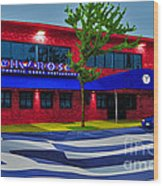 Ikaros Restaurant Baltimore Wood Print