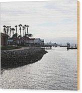 Il Fornaio Italian Restaurant In Coronado California 5d24379 Wood Print by Wingsdomain Art and Photography